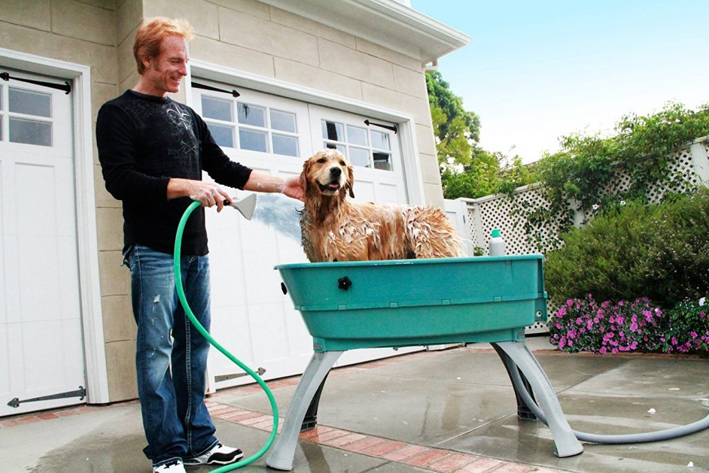 booster bath for dogs