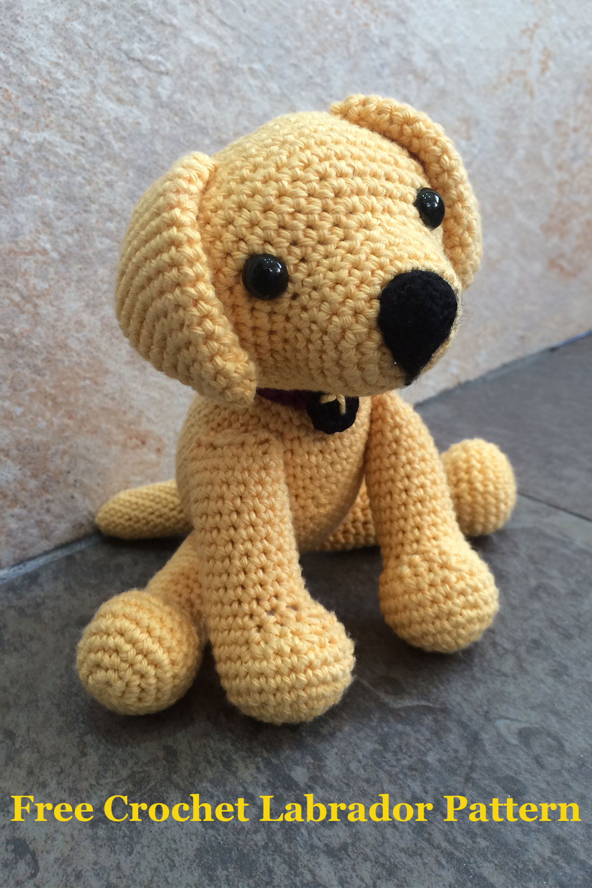 Free Crochet Patterns For Pet Toys : Crochet Labrador: How To Make Your Own Toy Dog - The ...