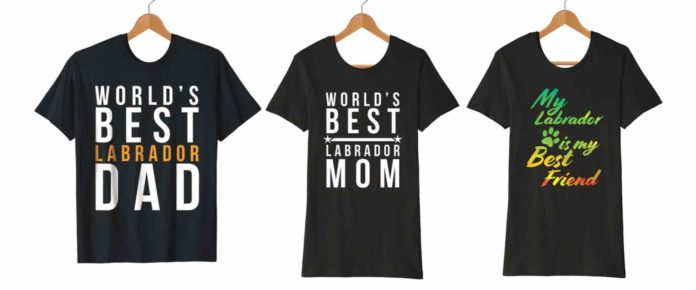 Labrador T-Shirts for the Labrador site