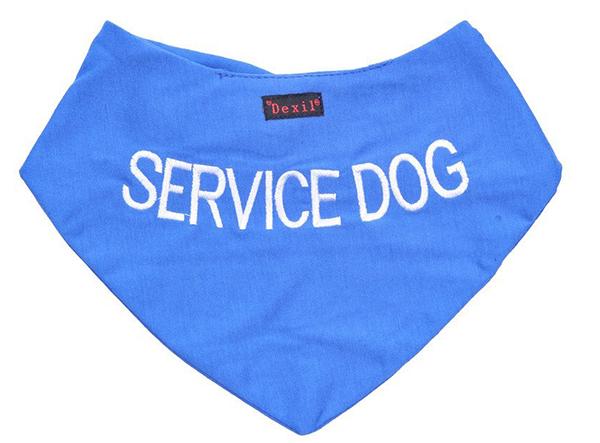 service dog bandana