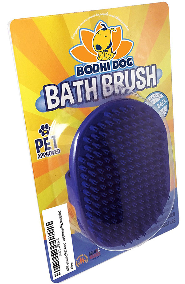 best dog bath brush