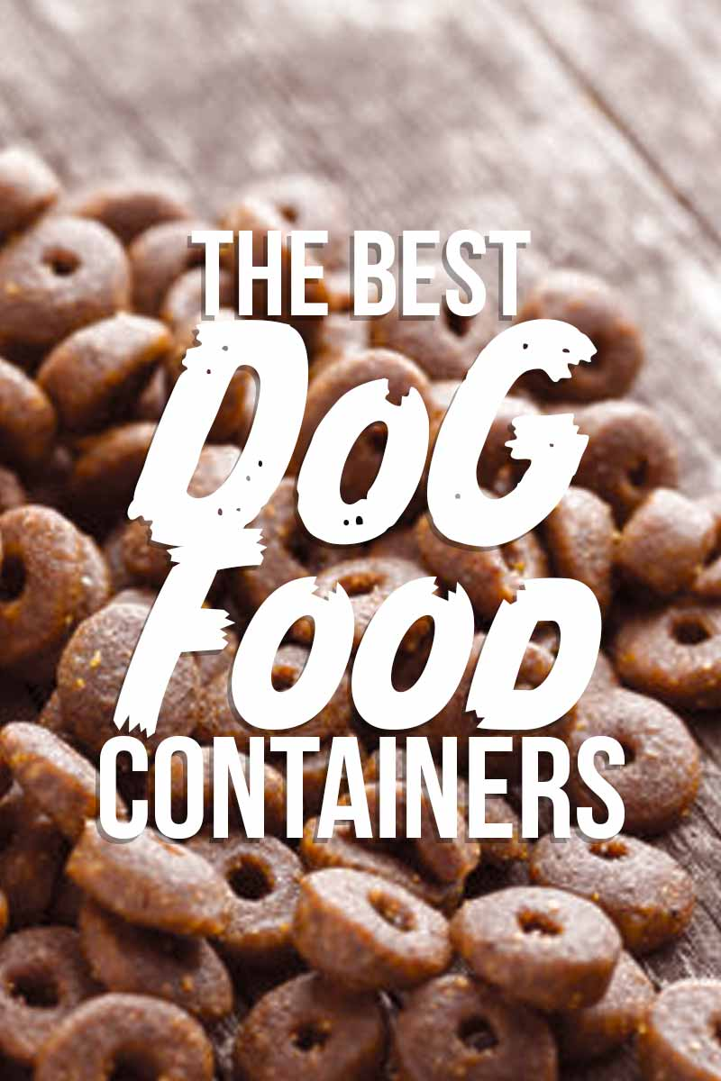 The Best Dog Food Containers - Product reviews from The Labrador Site.