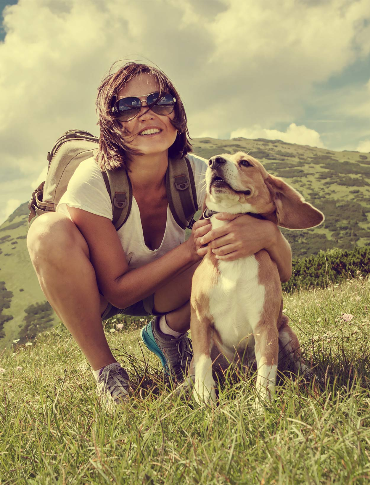 best hiking dogs